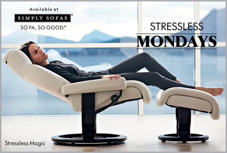 Ergonomic cushioning, carefully sculpted proportions, the Stressless patented Glide and Plus systems, a recliner that responds to your body's movements. Put an end to Monday morning blues - it's magic. #recliner #Stressless #Mondays #furniture #StresslessMondays #Bangalore #Coimbatore #Kochi #Pune #Chennai #India #trends #latest #Decor #Interiors  Visit: http://simplysofas.in/product?product_id=44