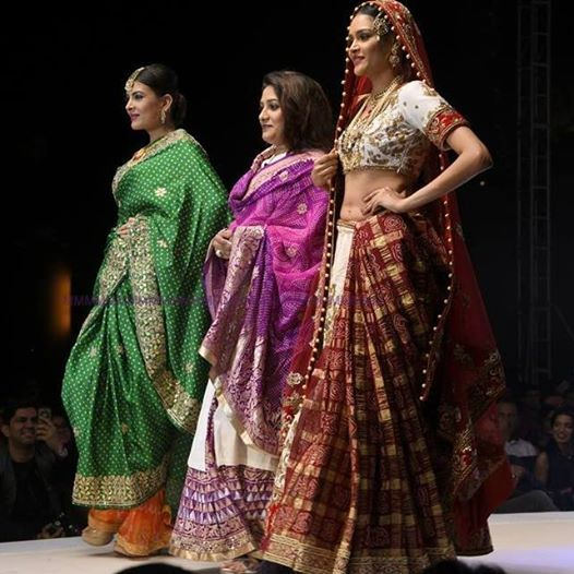 Shilpa Chaurasia creates fairytale bridal wear outfits.