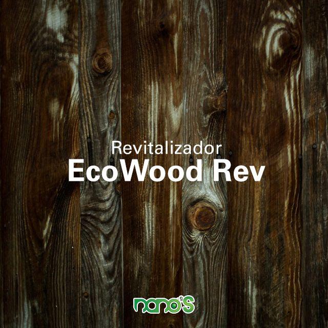 EcoWood Revitalizer, producto especializado que trabaja con las células de la madera y le da una segunda oportunidad a la vida de la madera. El increíble mundo la Nanotecnología permite esta rehabilitación sin la necesidad de utilizar solventes ni agentes peligros para el usuario ni el medio ambiente. Nanos-9 una marca de OTD Enterprises.