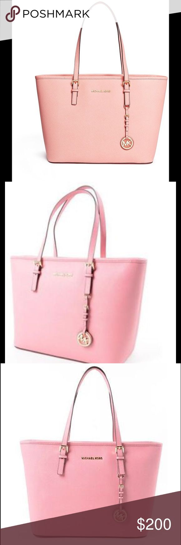 Michael kors pink tote purse New pink tote bag Michael kors Michael Kors Bags Totes