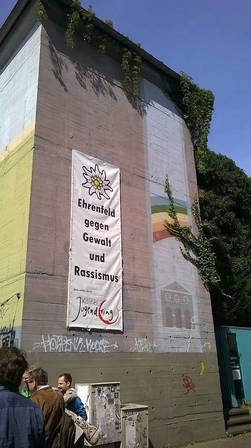 Bilder von einer Stadtteil-Führung durch Köln-Ehrenfeld
