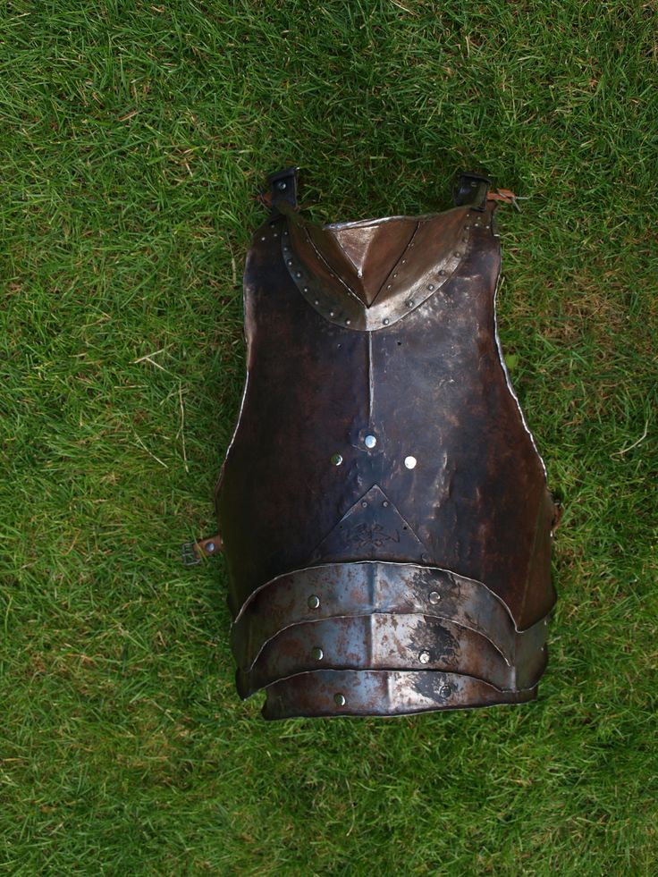 breast plate; inspired by movie; 1.3 mm thick