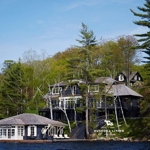 424 best images about boathouses on pinterest canada for Cottage designs ontario