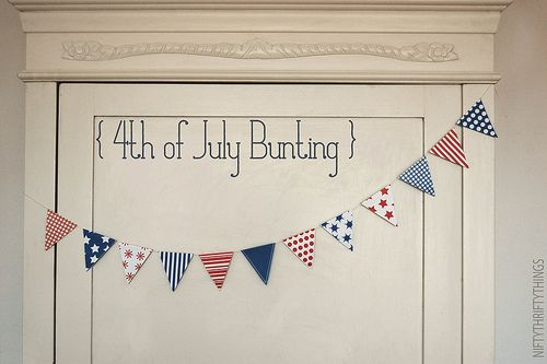 free printable 4th of July holiday banner