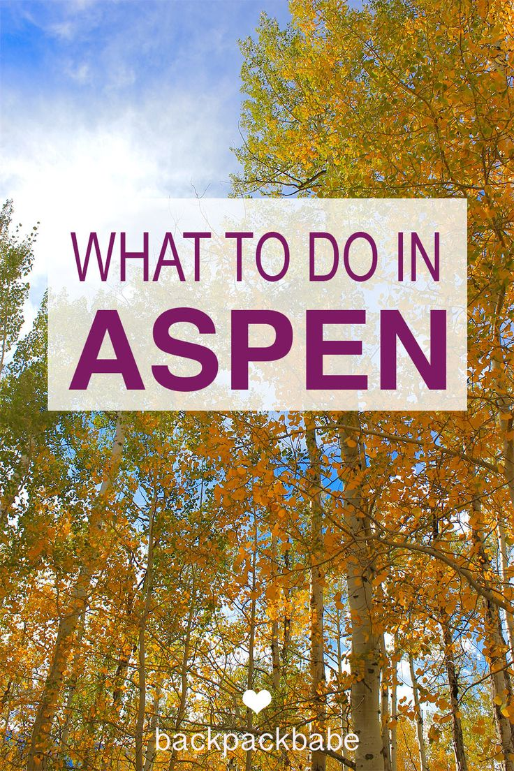 Things to do in Aspen Colorado