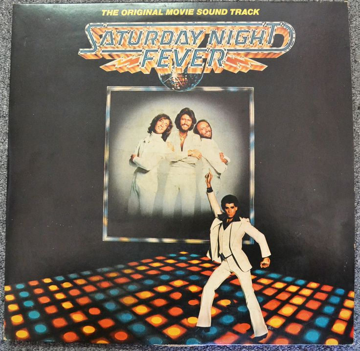 SATURDAY NIGHT FEVER SOUNDTRACK FIRST PRESS LP ALBUM RSO RS-2-4001 ETCHED WALLY #RocknRoll