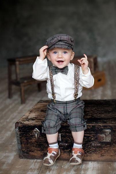 Classy little man