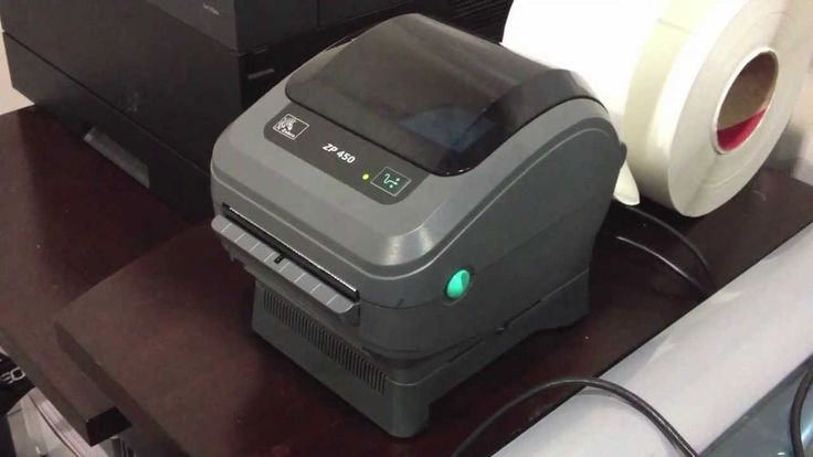 Zebra GK420d Direct Thermal Shipping Label Printer Complete Setup  #Zebra