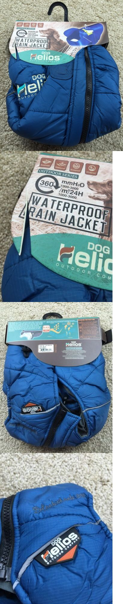 Pet Supplies: Nwt Dog Helios Outdoor Waterproof Rain Jacket Size Small Blue -> BUY IT NOW ONLY: $39.99 on eBay!