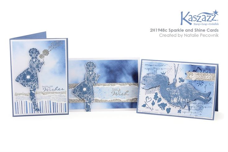 2H1948c Sparkle and Shine Cards