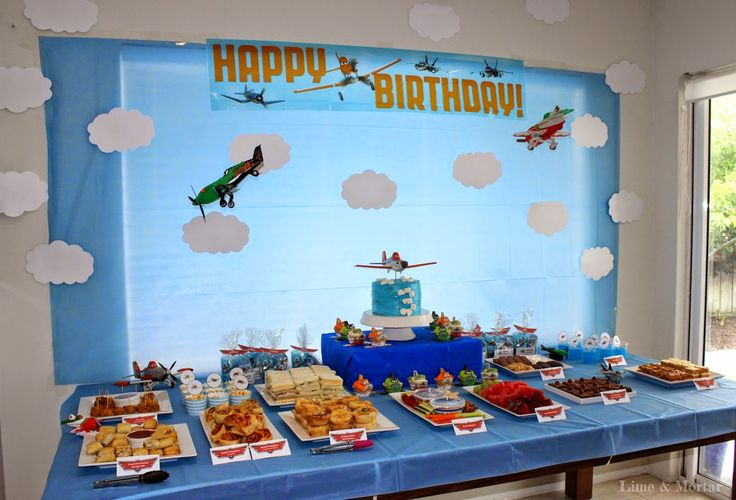 Lime & Mortar: Kids Parties: Planes Party