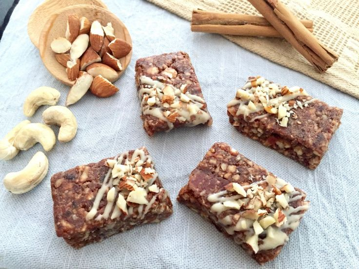 This No Bake Cinnamon Nut Slice is a deliciously nutty no-bake slice that is perfect for a mid afternoon pick me up for adults and kids alike