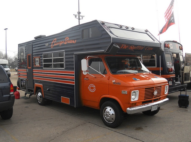Bears Tailgate Camper by mattheuxphoto, via Flickr
