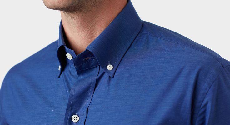 Blue Melange Shirt- Ledbury