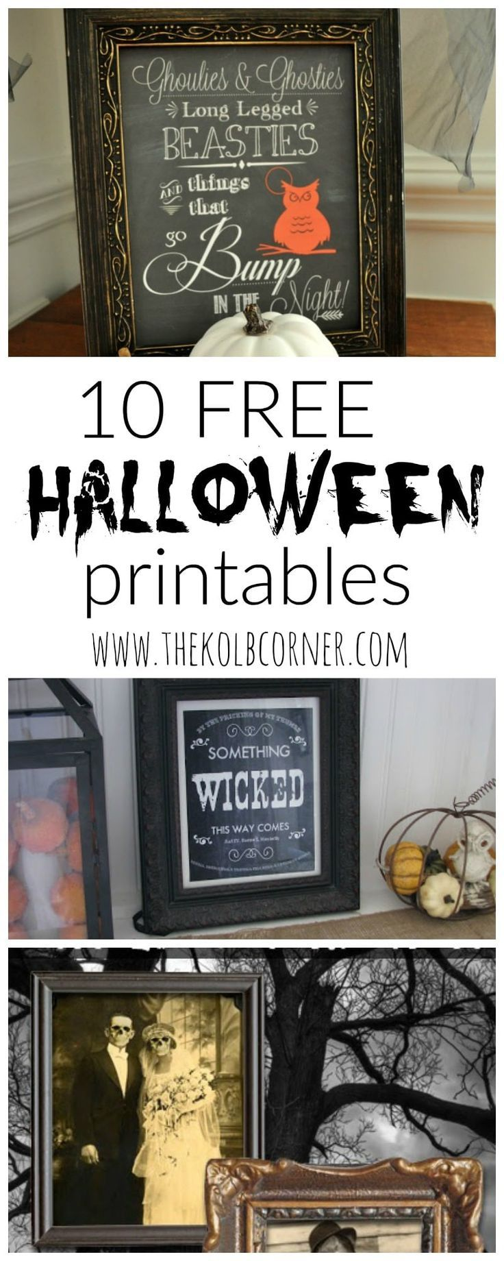 Printables are the easiest way to add some holiday flair to your decor, without breaking the bank or going to0 far overboard. Now I'm not one that loves to decorate for Halloween, but with some of these creepy printables, I may change my mind next year. Since Halloween is just right around the corner, I …