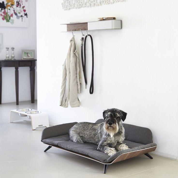 Canapé Lit luxe pour chien - LETTO Sable - Dog&Cat Design