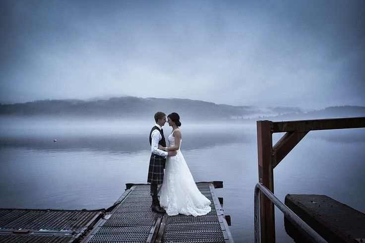 Emma And Scot S Beautiful Wedding At Venachar Lochside Bride