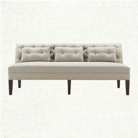 Shop the Eaton Settee Collection at Arhaus. - more modular piece and color options, Could be a lunge and daybed as well