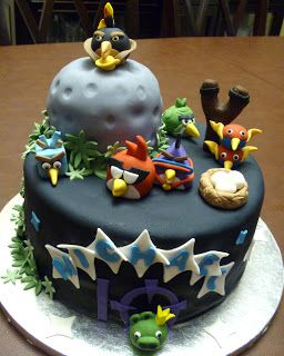 Pure Delights Baking Co.: Angry Birds Space Cake