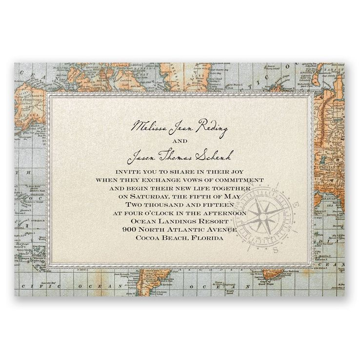 Find a variety of antique-style wedding invitations with coordinating reception cards and response cards when you shop Invitations by Dawn.