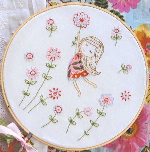 17 mejores ideas sobre Patrones Para Bordar en Pinterest | Flores ...