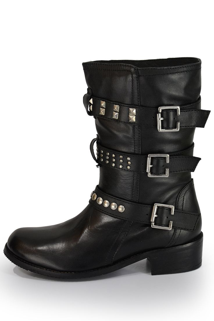 Natural leather biker boots cc.39 euro