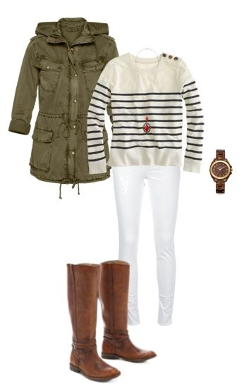 53 best images about How to wear: Khaki Jacket/Parka on ...
