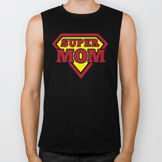 Super MoM Biker Tank