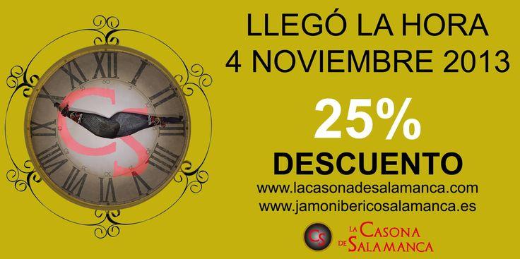 Una gran oportunidad para disfrutar del #jamon y embutido a un precio fantástico.  http://www.jamonibericosalamanca.es/es/