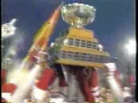 Laval Rouge et Or @ Vanier Cup 2006 Champions