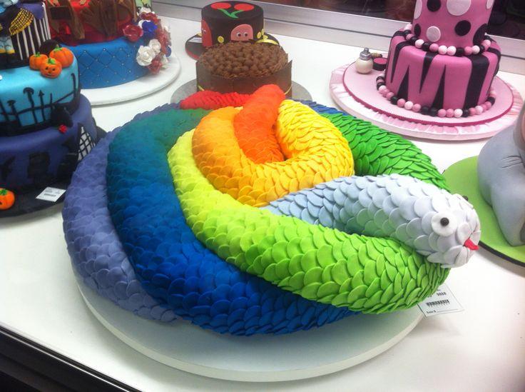 Decorative Themed Cake: Serpent Royal Melbourne Show 2014