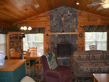Buck Nu0027 Bass Lodge Close To Mt. Fort Fishing (High Economy Cabin)