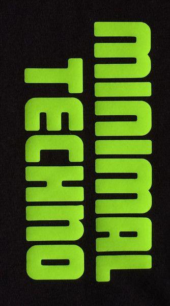 """T-Shirts mit Print - """" MINIMAL TECHNO """", EINZIGARTIGES TREND SHIRT - ein Designerstück von Y-MAR bei DaWanda"""