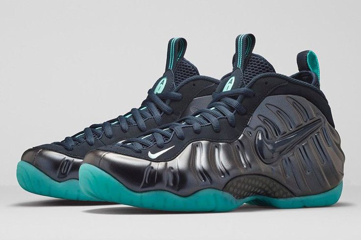 Teal Green and Black  Foamposites