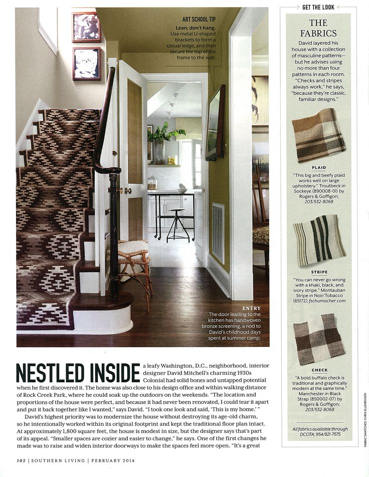 For Stairs With Flair, Install Our Runners    Like Nordic Kilim, Featured  In This Elegant Entry In Southern Living. Itu0027s An Easy Wait To Add Visual  Interest ...