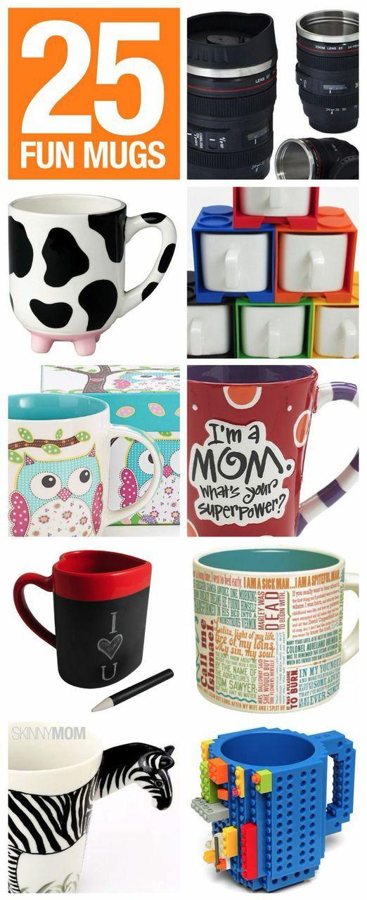 These fun mugs would make the perfect stocking stuffer!