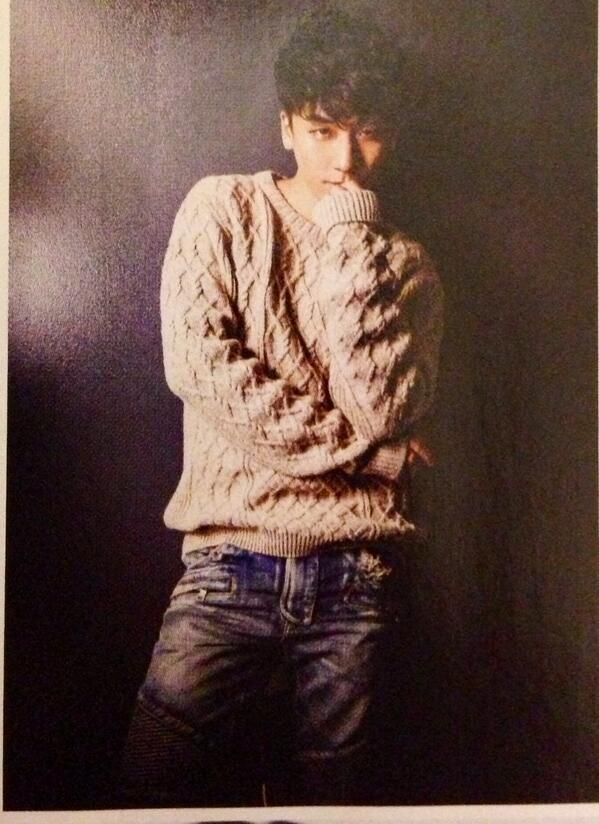 Seungri in Japanese magazine What's In:
