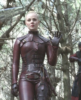 Mord-Sith, but I can see this as a steampunk outfit.