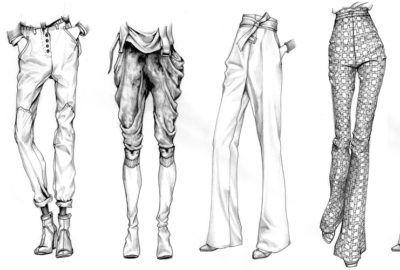 Pants illustration