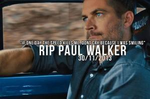 RIP Paul Walker by harriett