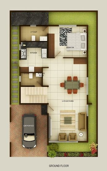 25 best ideas about duplex house on pinterest duplex Duplex house plans indian style