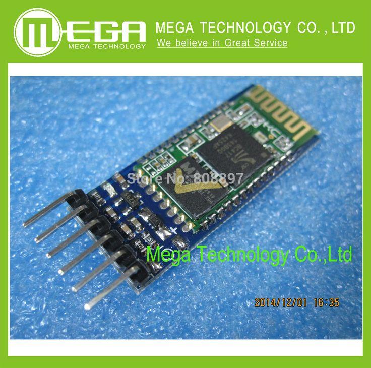 10 шт. HC05 JY-MCU АНТИРЕВЕРСА, встроенный интерфейс Bluetooth модуль последовательной сквозной, HC-05 master-slave 6pin