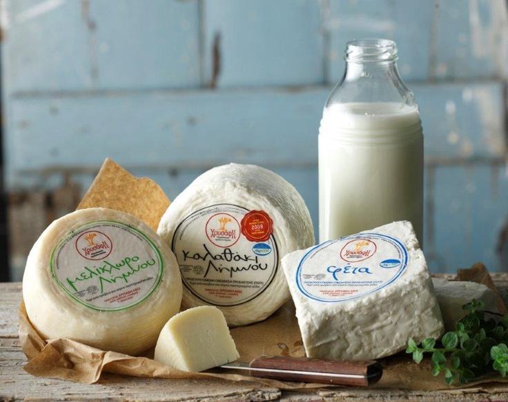 Feta...Kalathaki...Melichloro... Unique cheeses!!