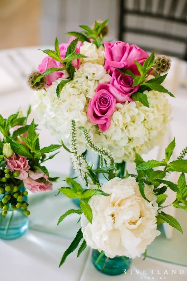 Southern Wedding Flower Arrangement