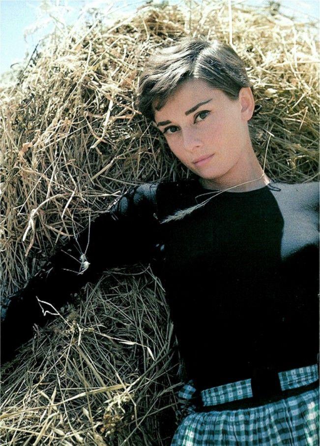 Audrey Hepburn, Italy, 1954
