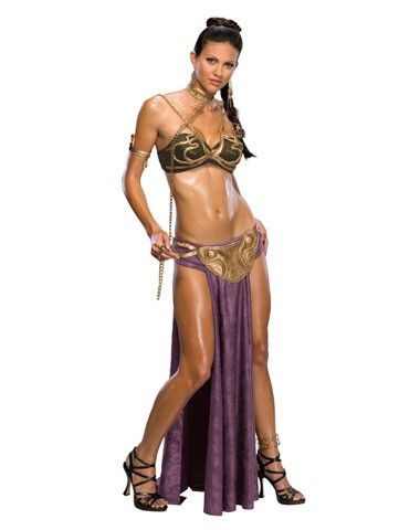 Sexy Princess Leia Adult Womens Costume - My goal in life: to fit in this one day!