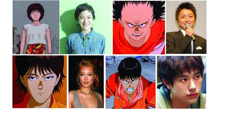 My Dream Cast for Akira Live Action  Kaneda - Kenichi Matsuyama Tetsuo - Tatsuya Fujiwara Kei - Rinko Kikuchi Kaori - Yu Aoi