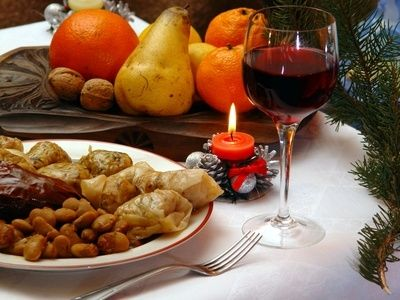 Russian Christmas Foods