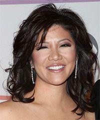 Julia Chen Hairstyle: Formal Medium Wavy Hairstyle