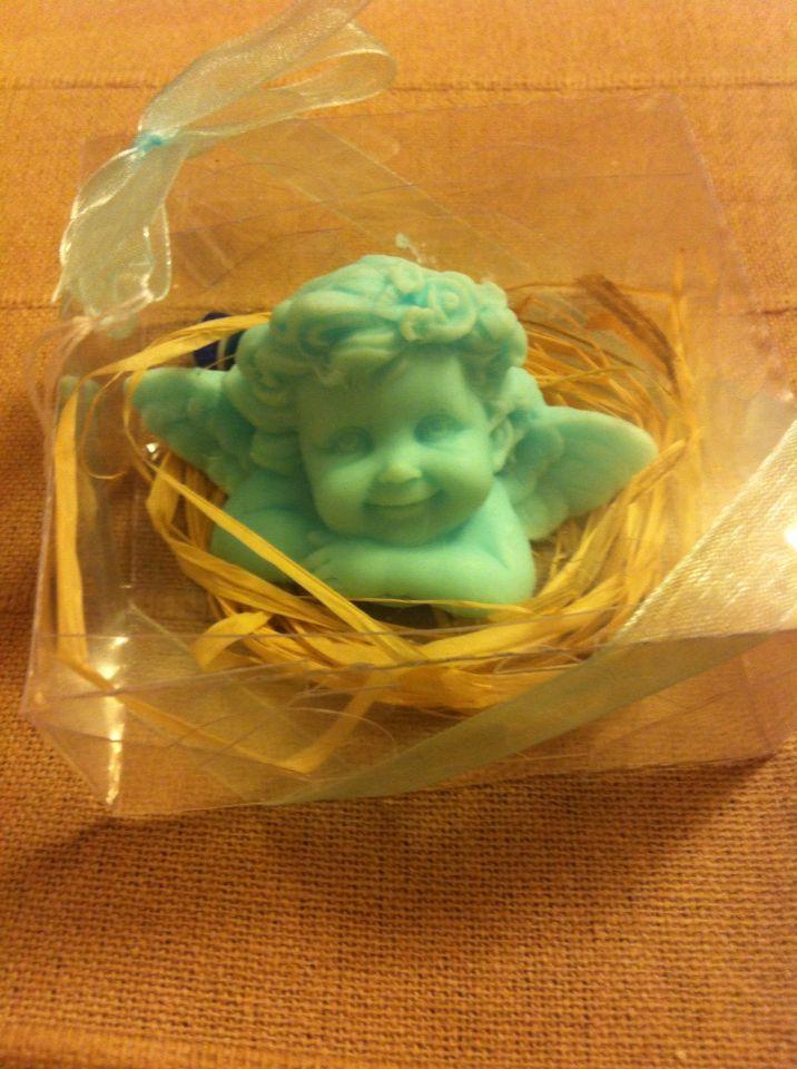 Angel soap whit Mint
